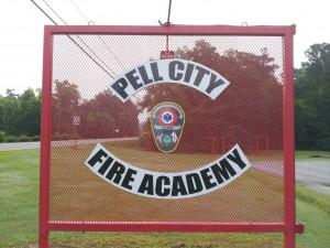 Fire Academy Sign