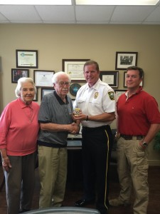 Chaplain Dendy Retires