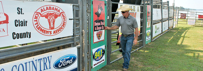 3rd annual bulls on the lake rodeo