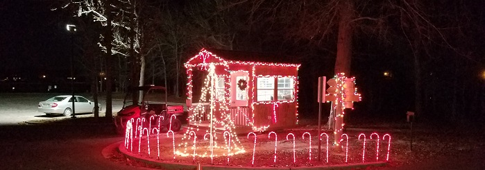 Lakeside Park Christmas Lights 2017-1